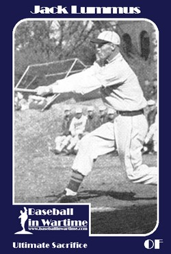 Jack Lummus Baseball Card
