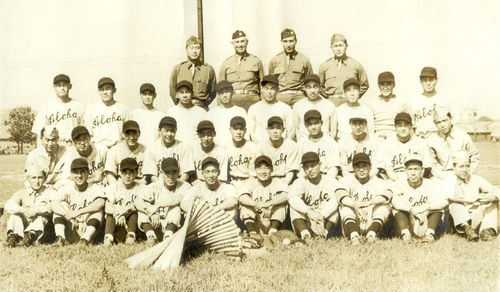 100th Battaion Aloha Baseball Team